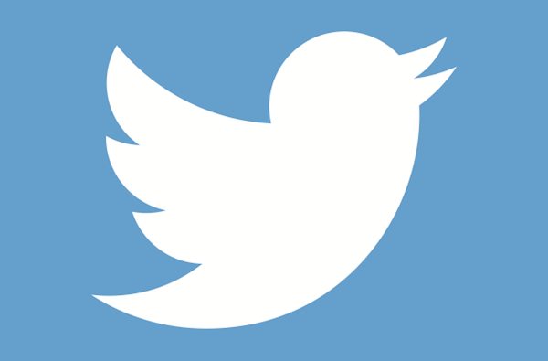 alltwitter twitter bird logo white on blue
